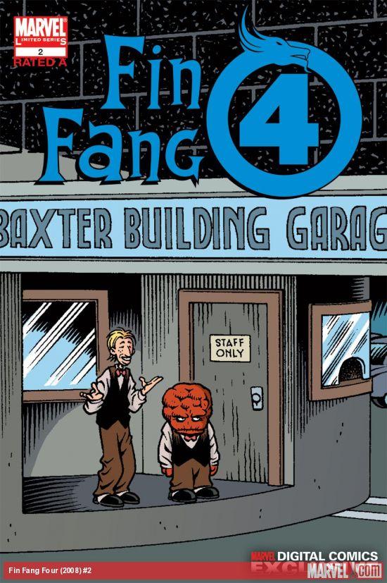 Fin Fang Four Digital Comic (2008) #2