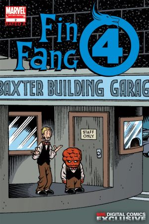 Fin Fang Four Digital Comic #2