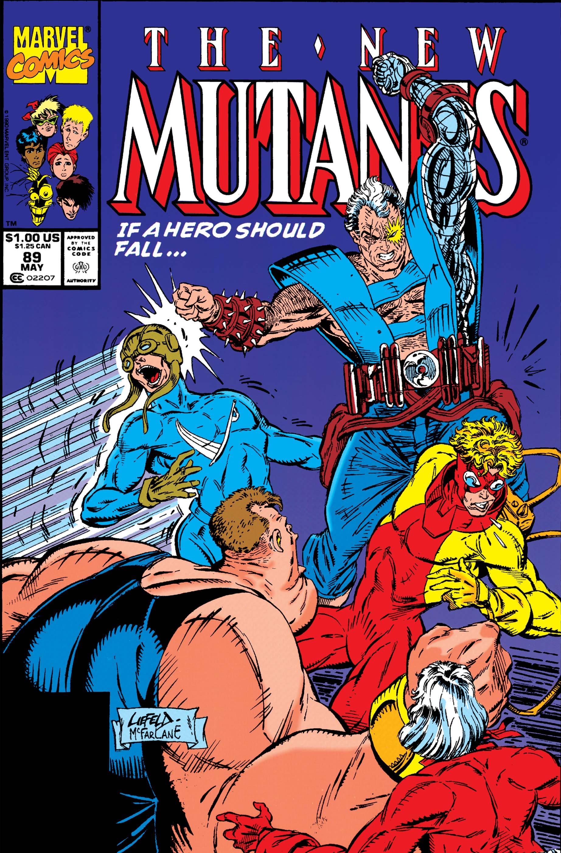 New Mutants (1983) #89