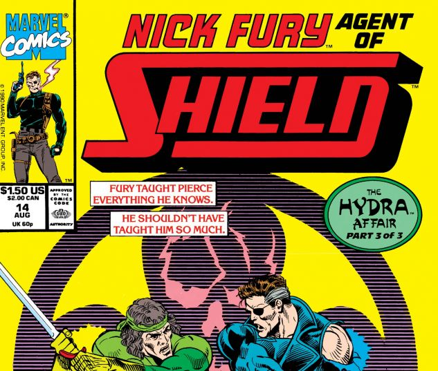 Nick Fury, Agent of Shield (1989) #14