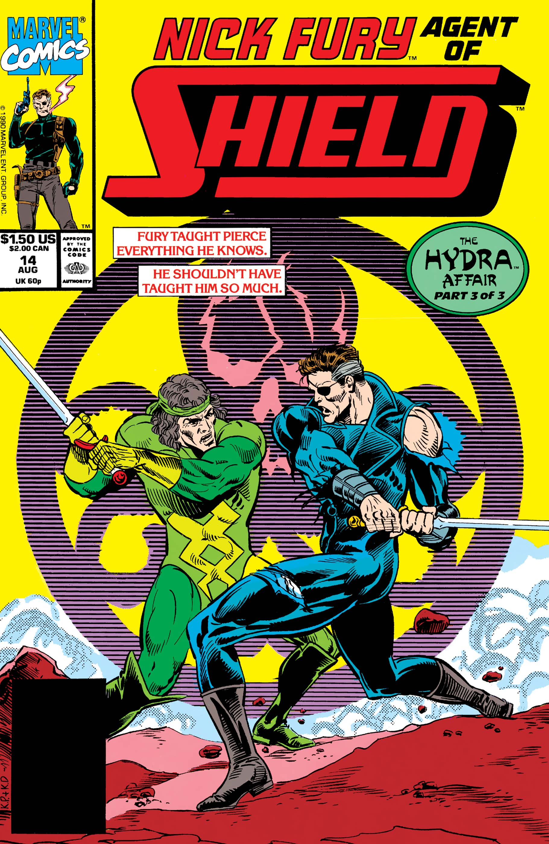 Nick Fury, Agent of S.H.I.E.L.D. (1989) #14