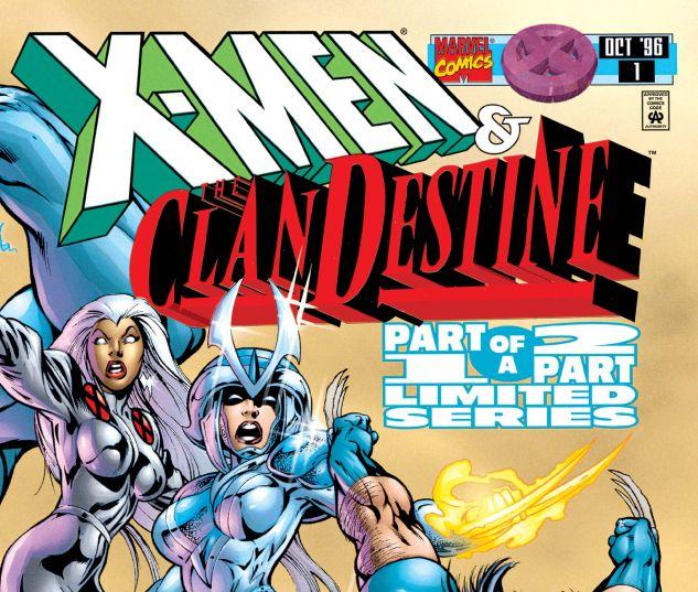 X-Men/Clandestine (1996) #1