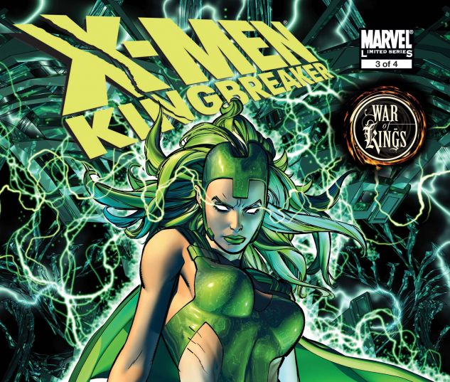X-Men: Kingbreaker (2008) #3