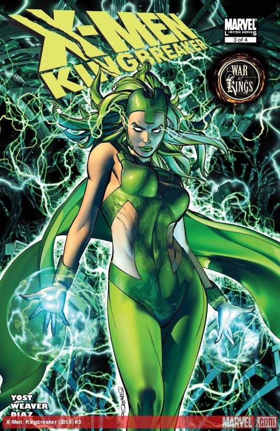 X-Men: Kingbreaker (2008) #3