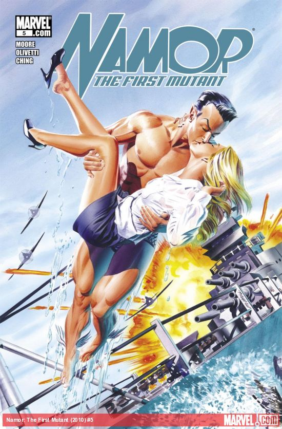 Namor: The First Mutant (2010) #5