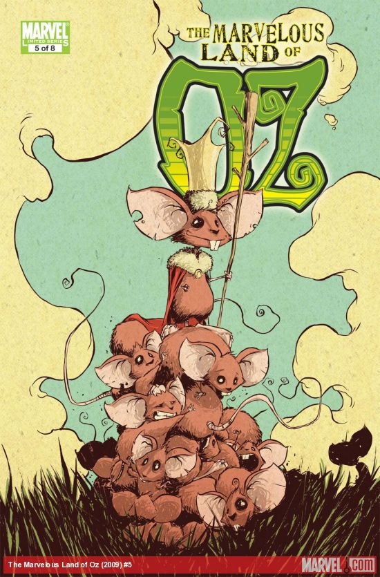 The Marvelous Land of Oz (2009) #5