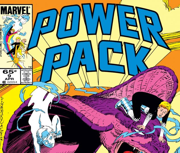Cover to Power Pack (1984) #9