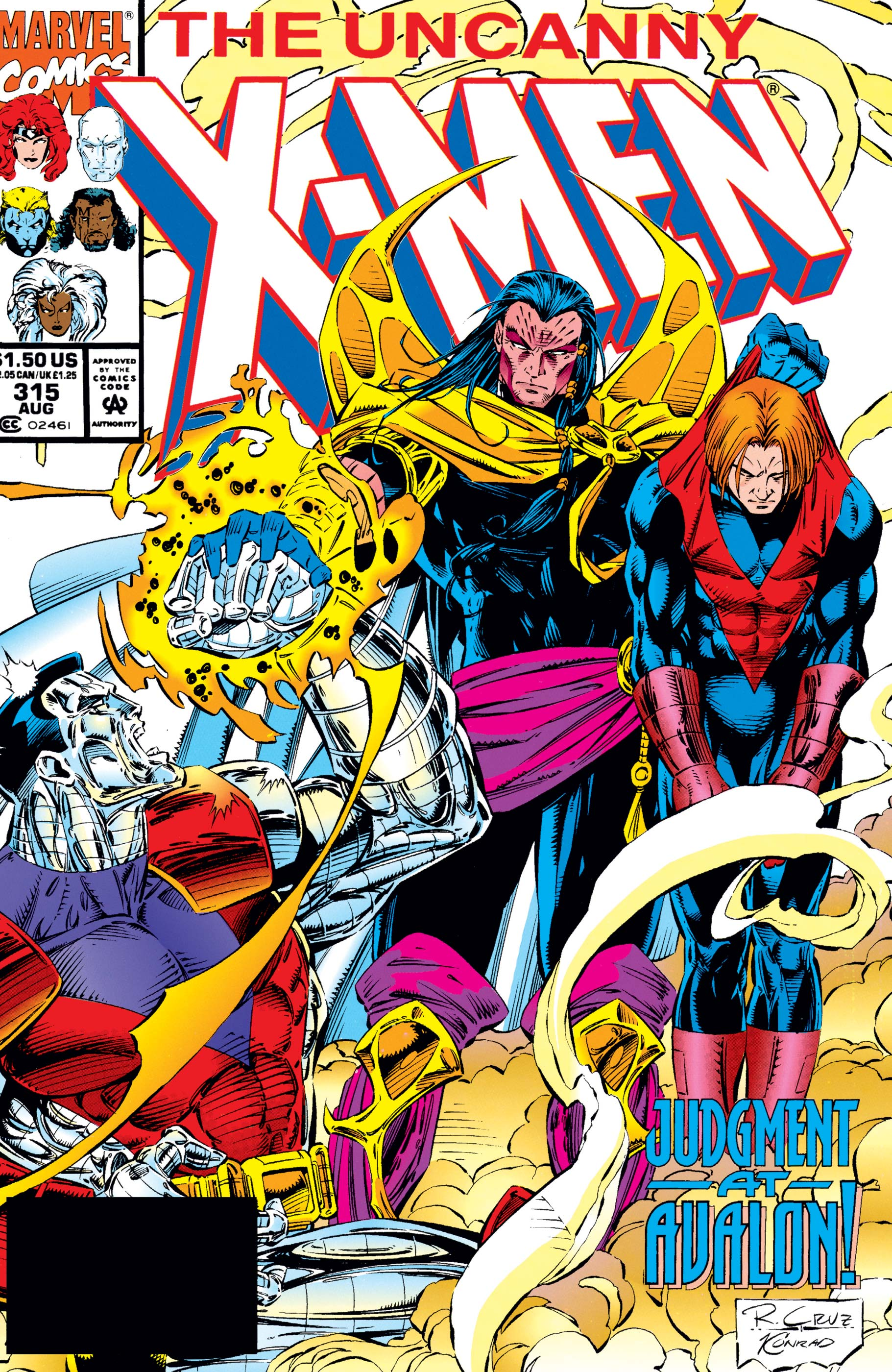 Uncanny X-Men (1963) #315