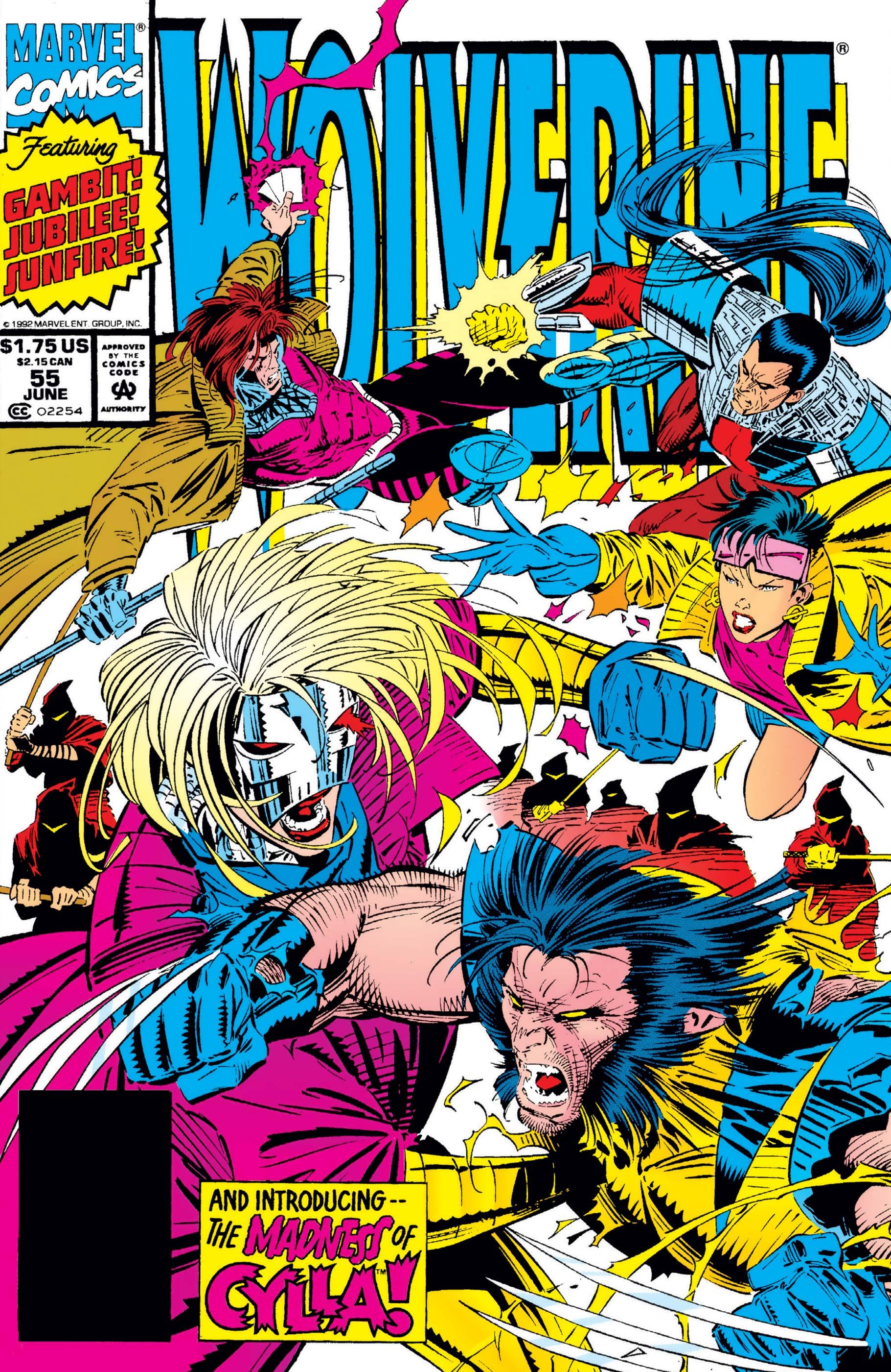 Wolverine (1988) #55