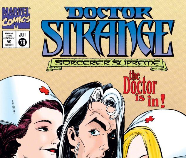 Cover for Doctor Strange, Sorcerer Supreme 78