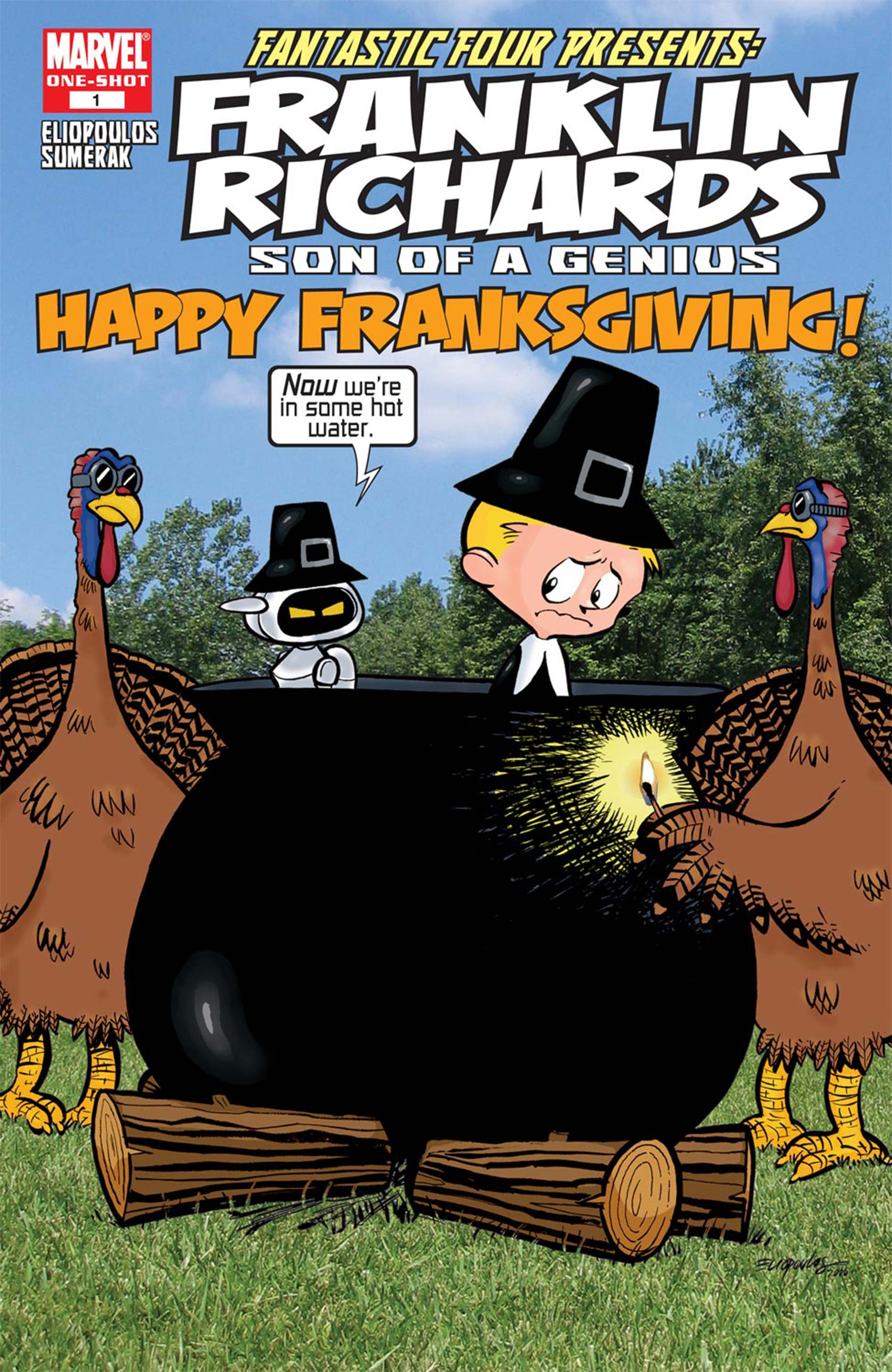 Franklin Richards: Happy Franksgiving (2006) #1