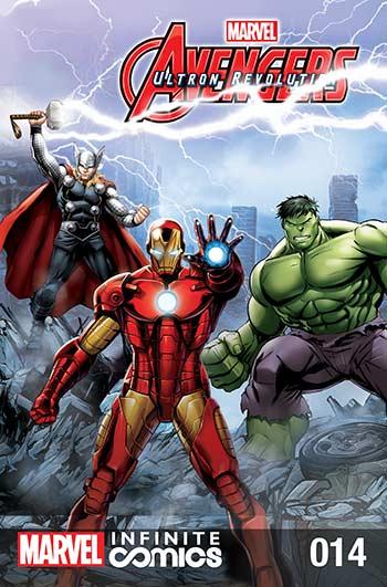 Marvel Universe Avengers: Ultron Revolution (2017) #14
