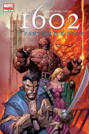 Marvel 1602: Fantastick Four (2006) #1