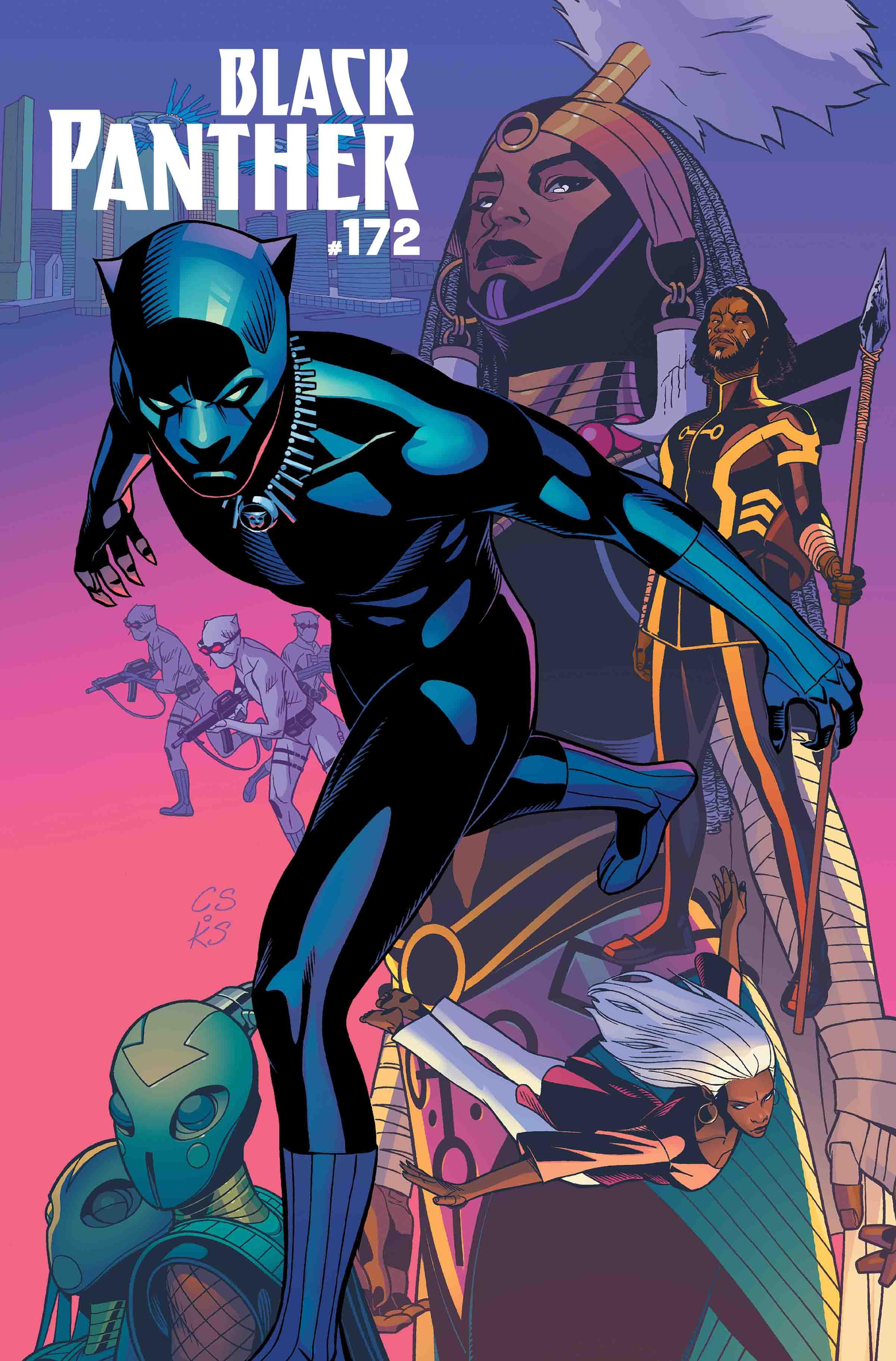 Black Panther (2016) #172