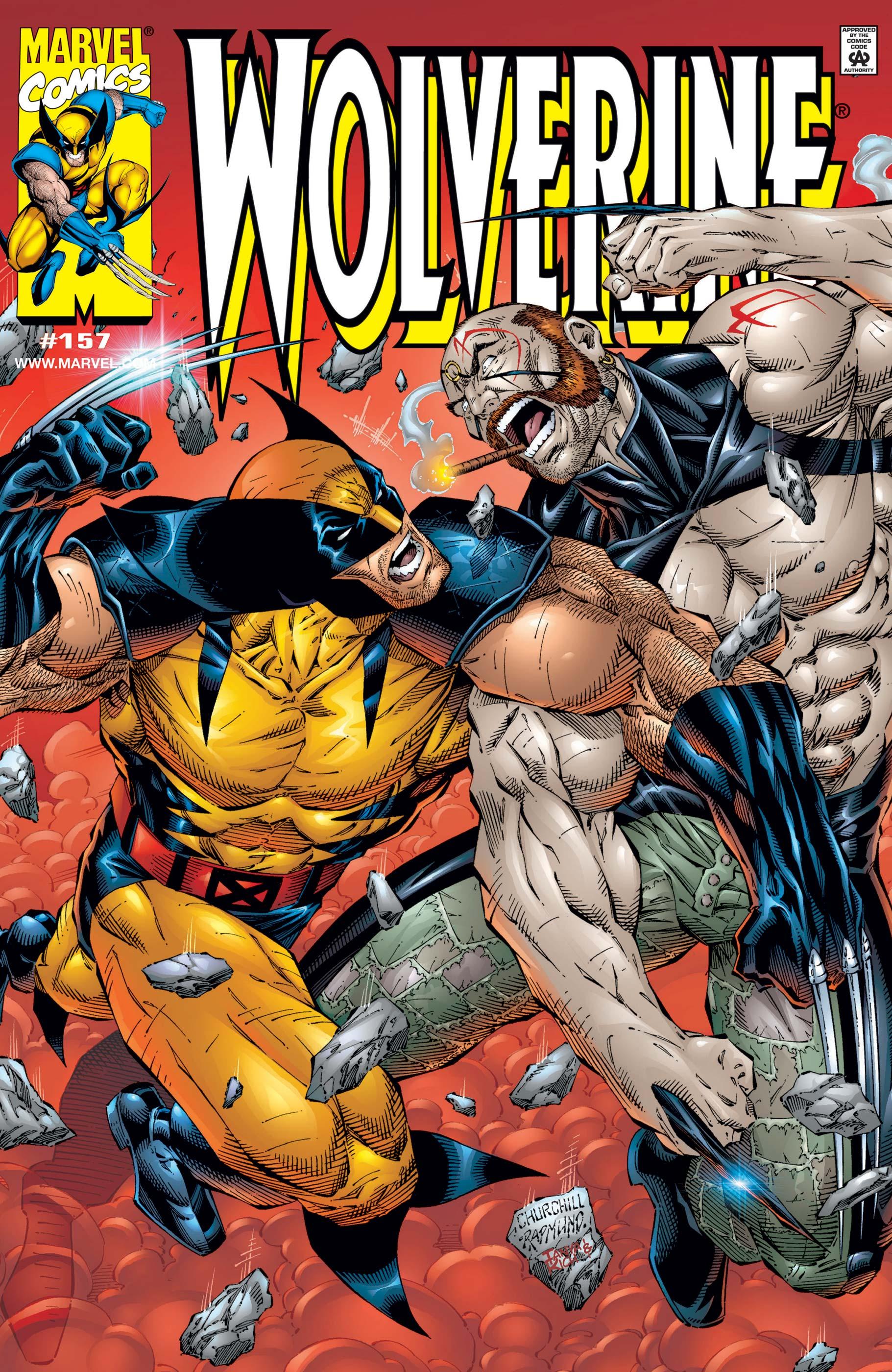 Wolverine (1988) #157