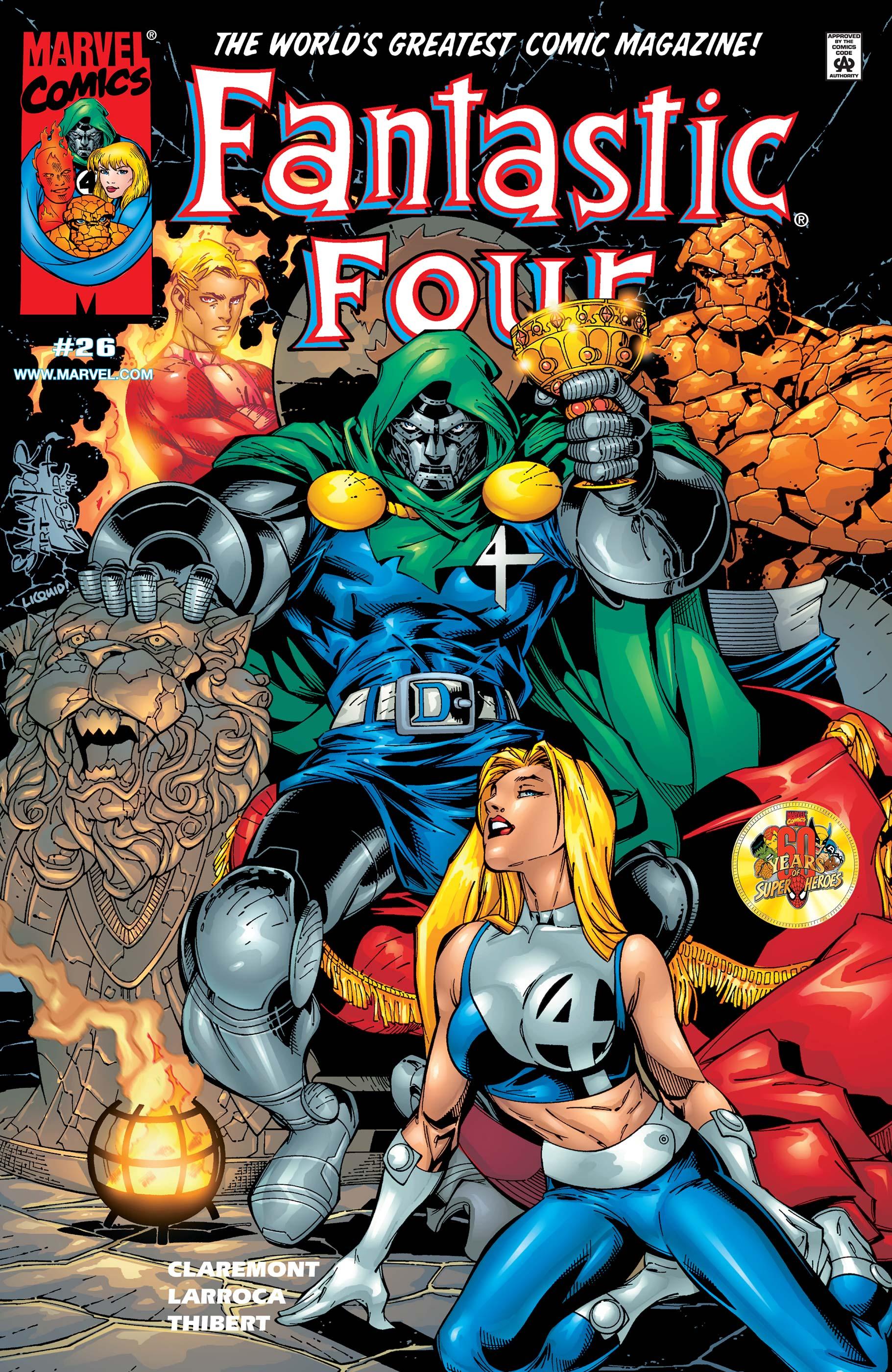 Fantastic Four (1998) #26
