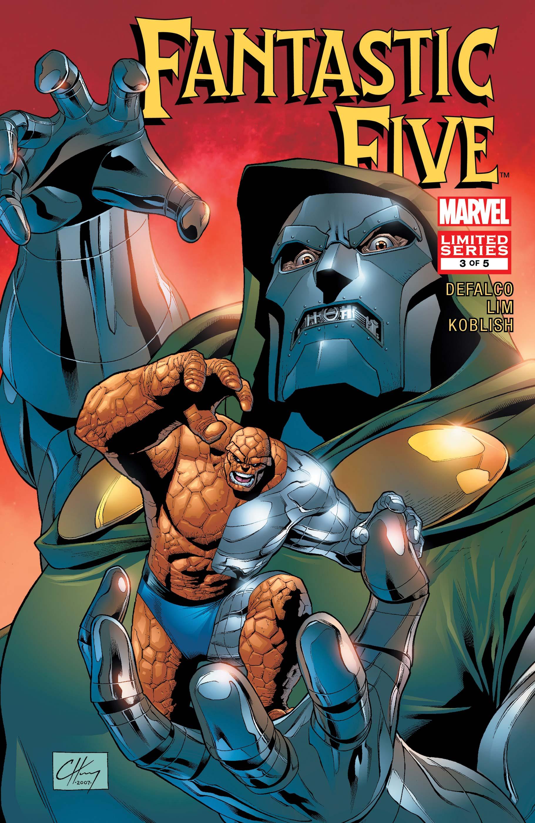 Fantastic Five (2007) #3