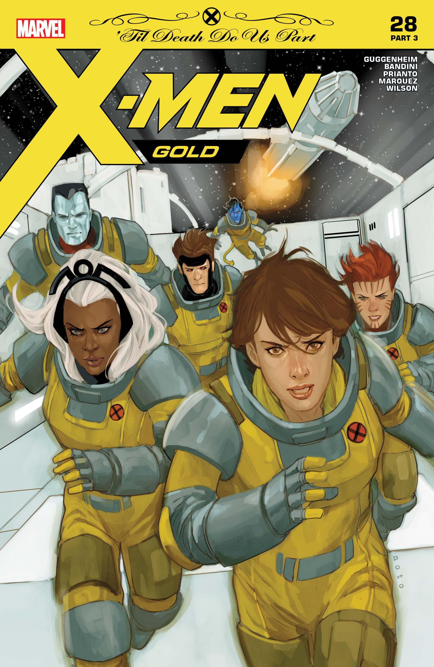 X-Men: Gold (2017) #28