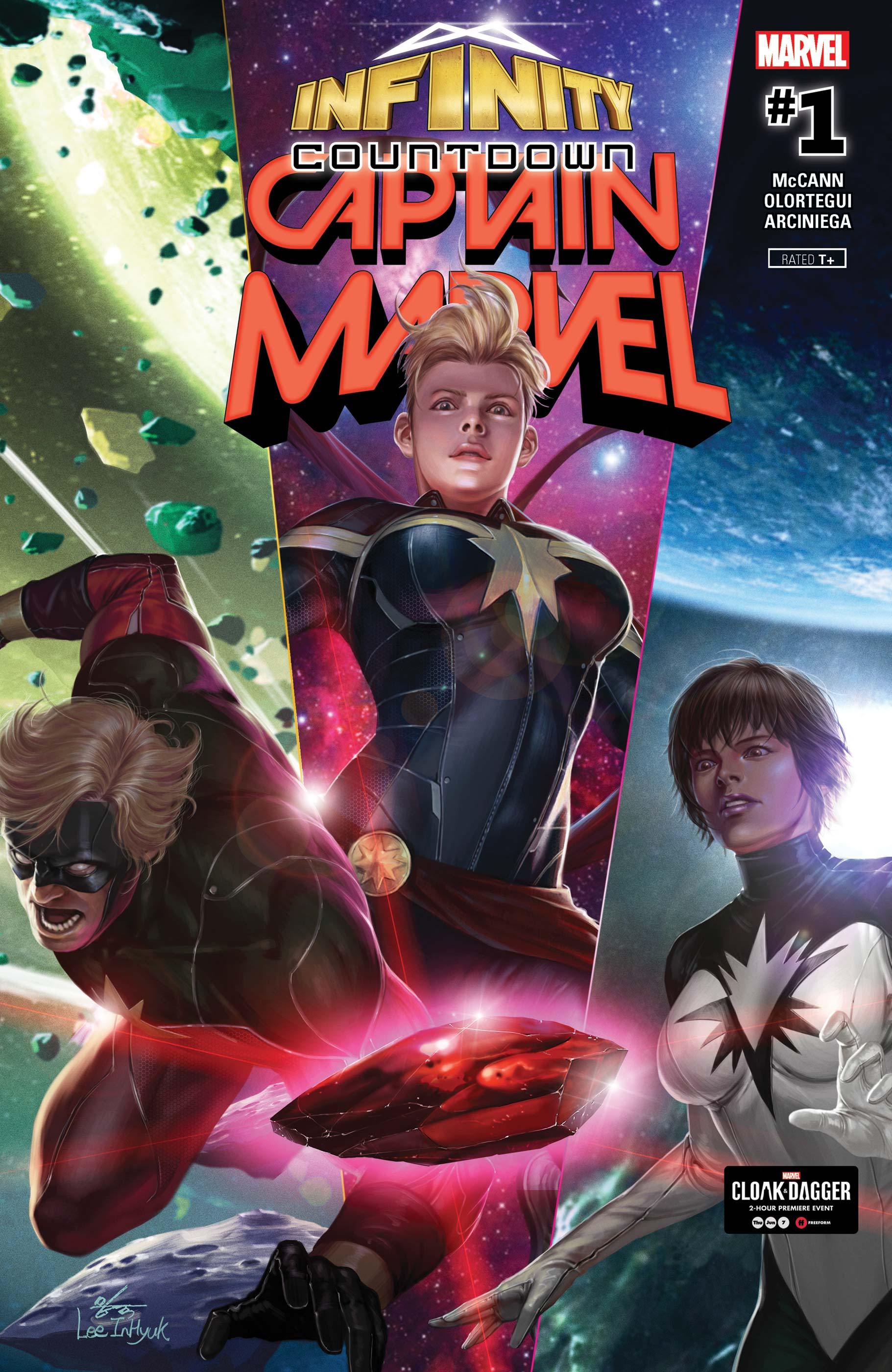 Infinity Countdown: Captain Marvel (2018) #1