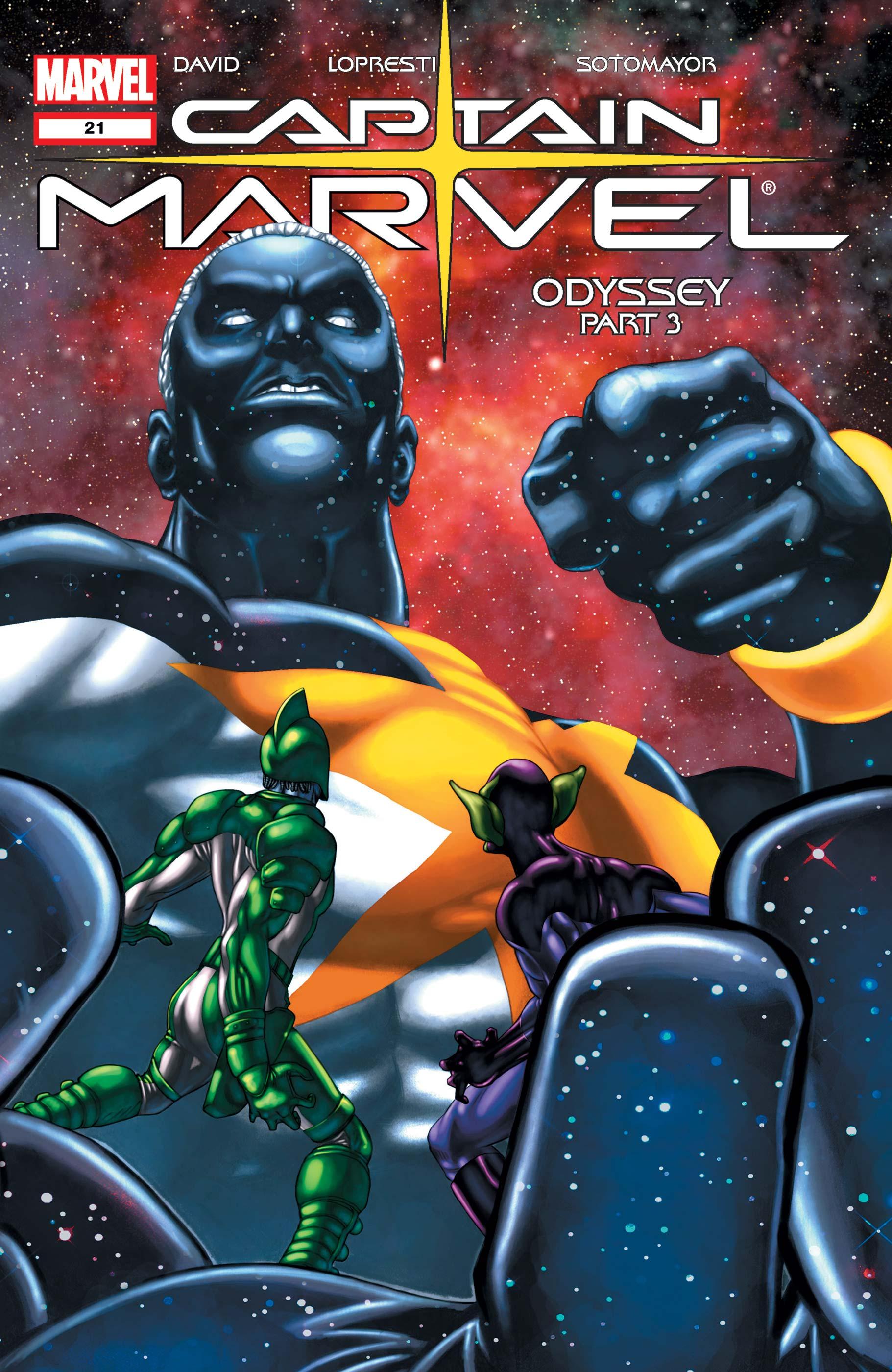 Captain Marvel (2002) #21