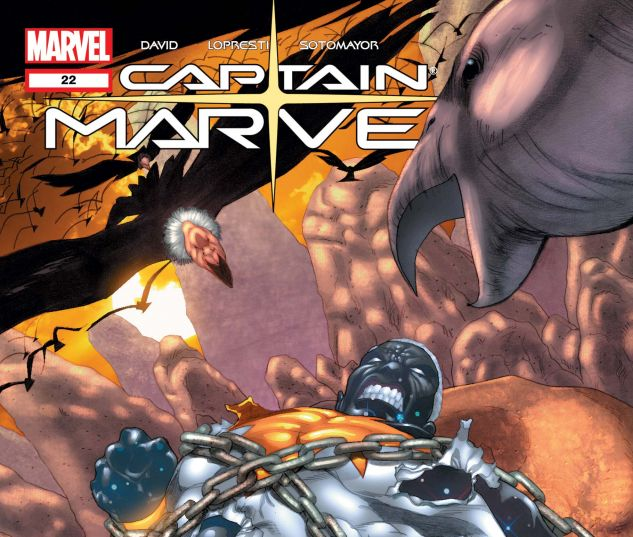 Captain Marvel (2002) #22