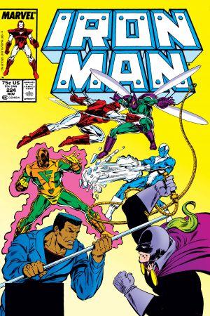 Iron Man #224