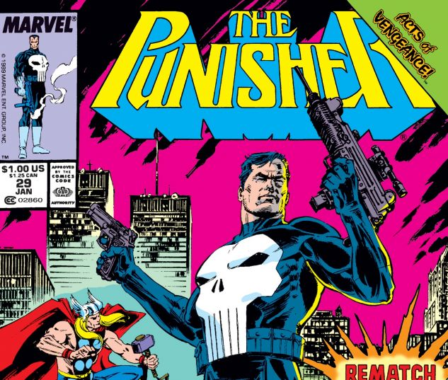 cover from Punisher (1987) #29