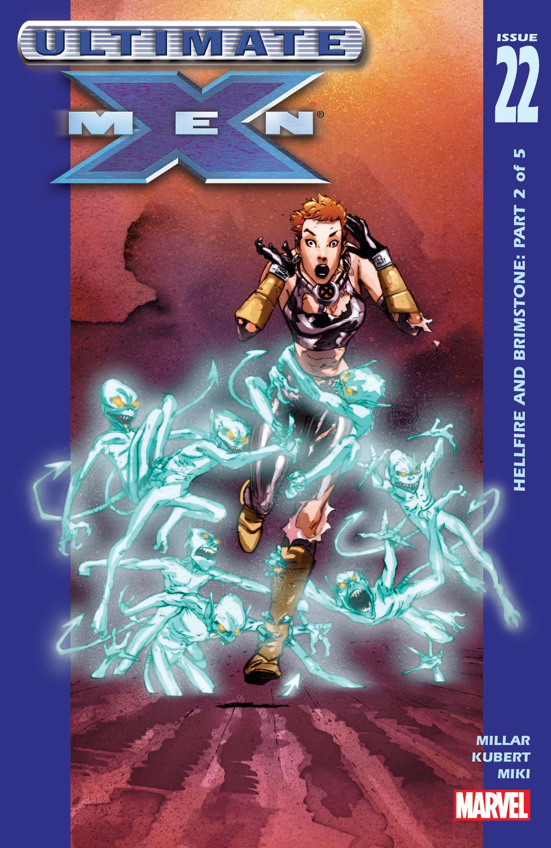 Ultimate X-Men (2000) #22