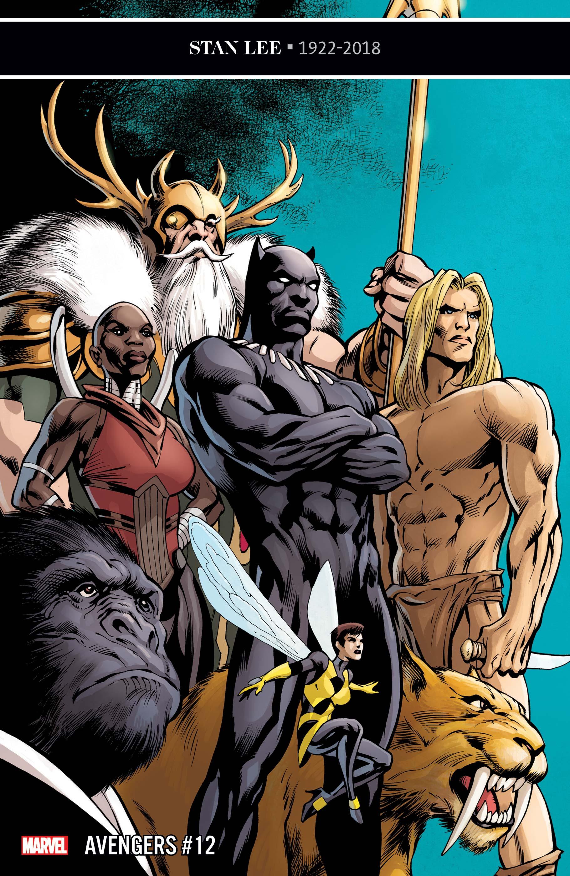 Avengers (2018) #12