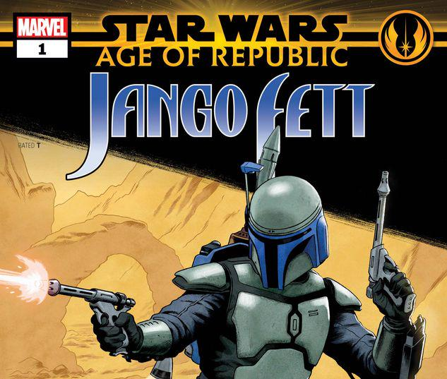STAR WARS: AGE OF REPUBLIC - JANGO FETT 1 #1