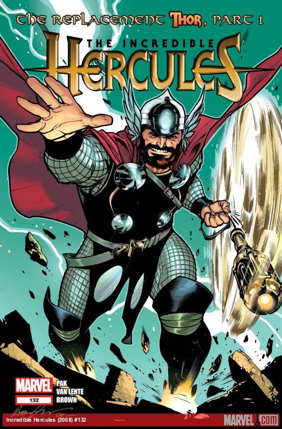 Incredible Hercules (2008) #132