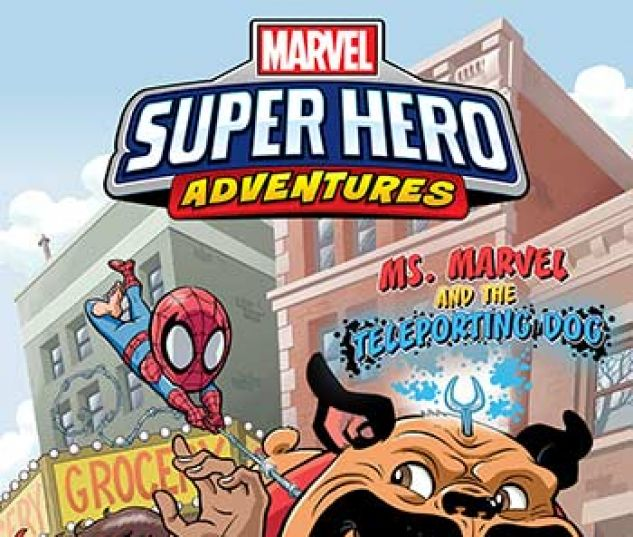 cover from Marvel Super Hero Adventures: Ms. Marvel and the Teleporting Dog Infinite Comic (2019)