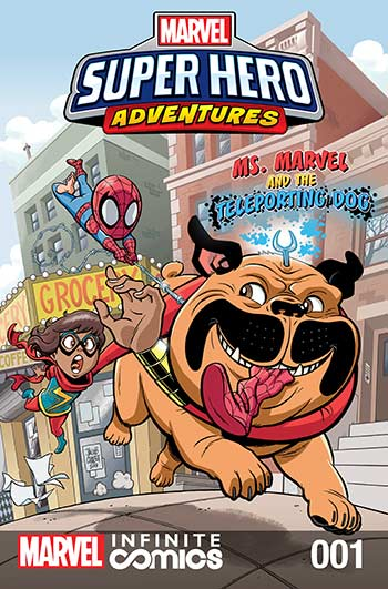 Marvel Super Hero Adventures: Ms. Marvel and the Teleporting Dog (2019) #1