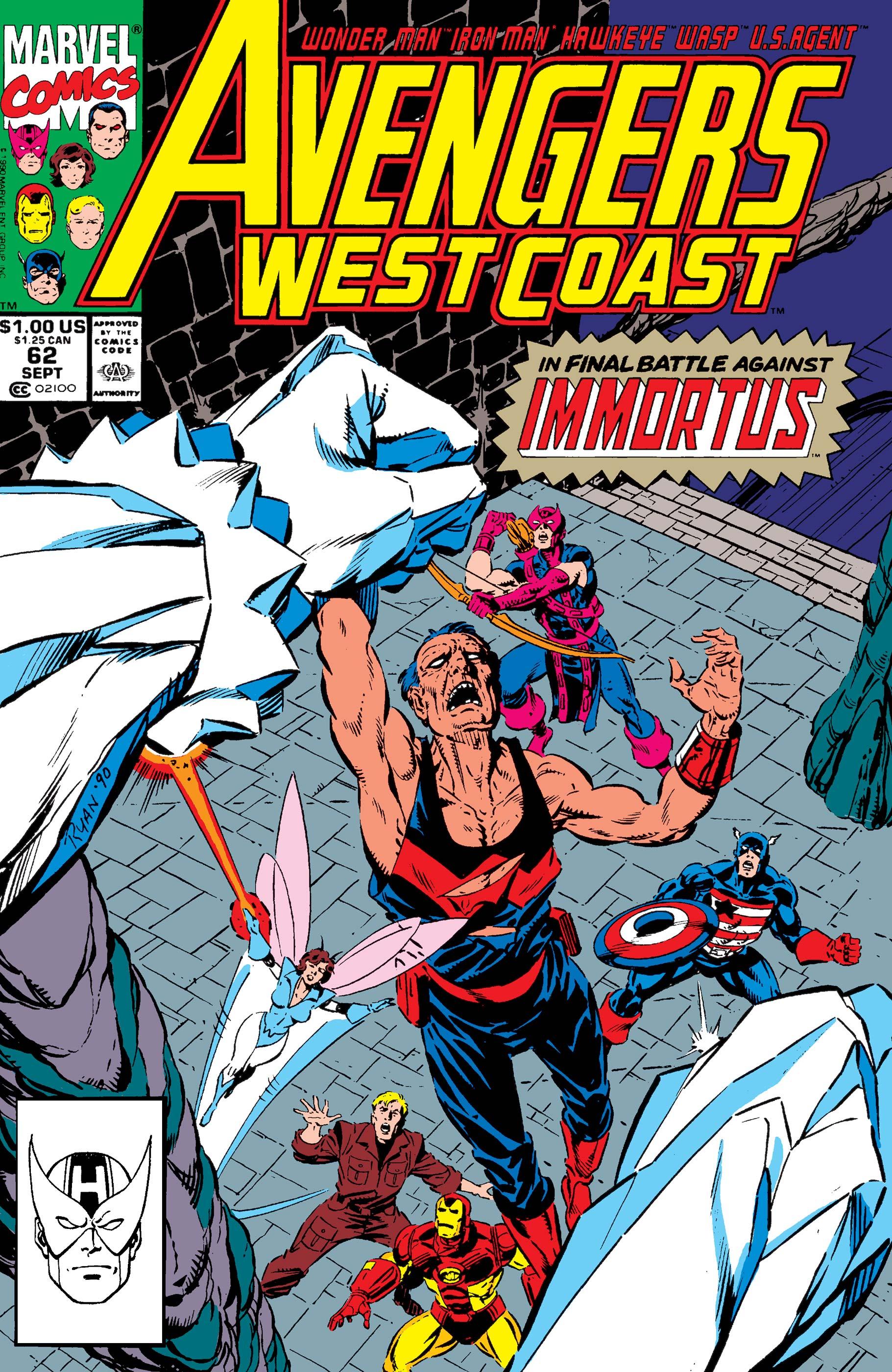 West Coast Avengers (1985) #62