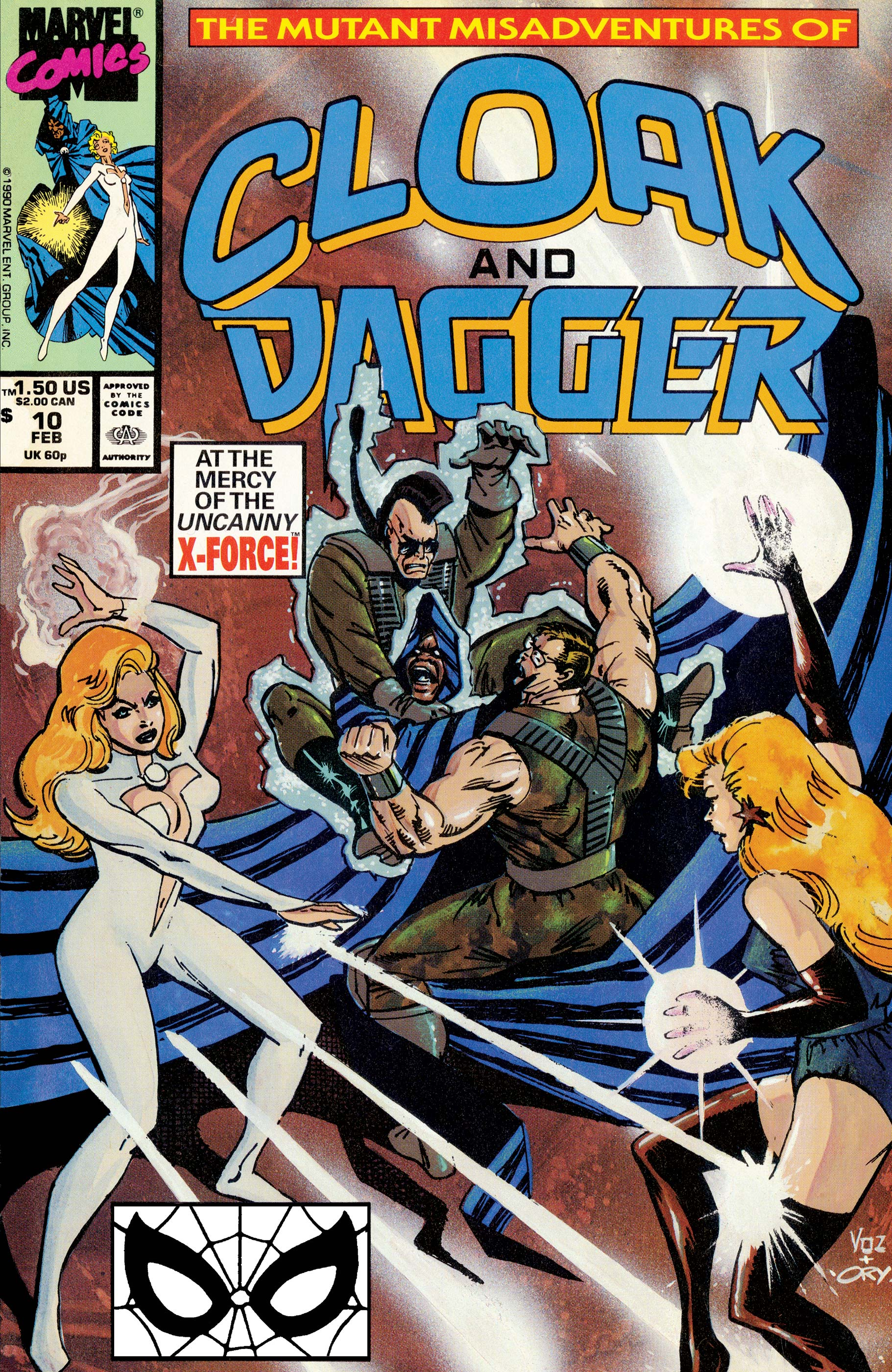 The Mutant Misadventures of Cloak and Dagger (1988) #10