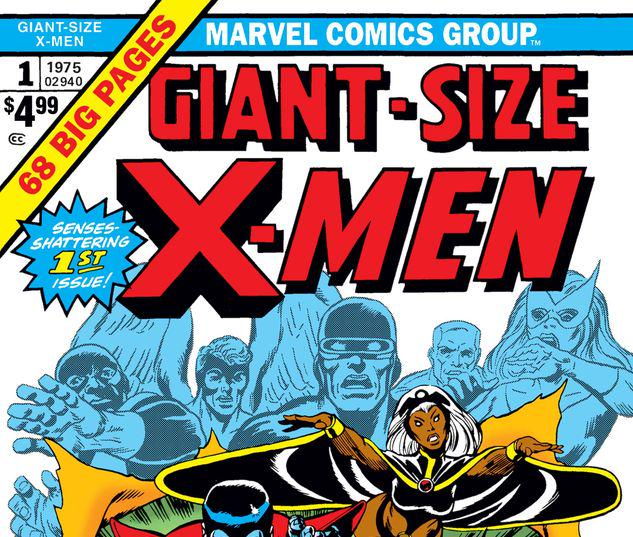 GIANT-SIZE X-MEN 1 FACSIMILE EDITION #1