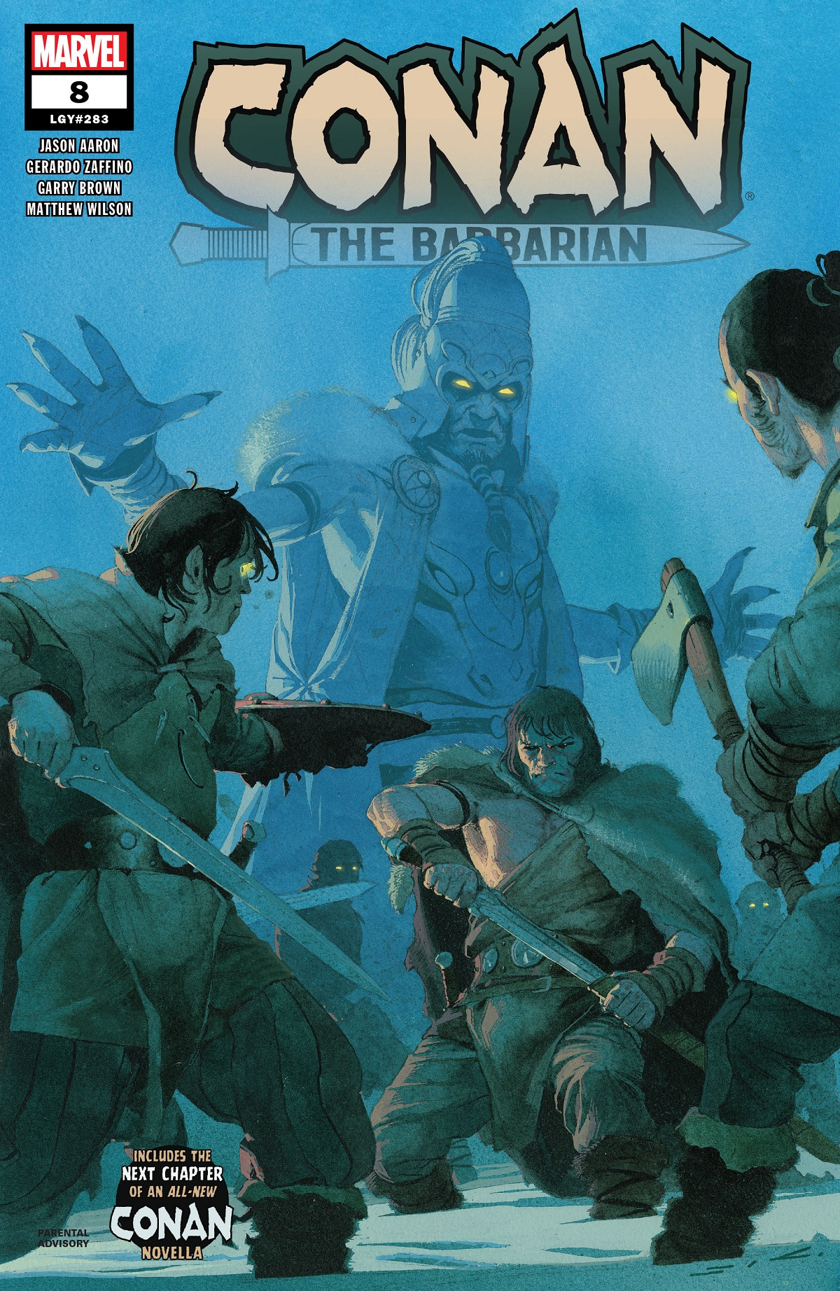 Conan the Barbarian (2019) #8