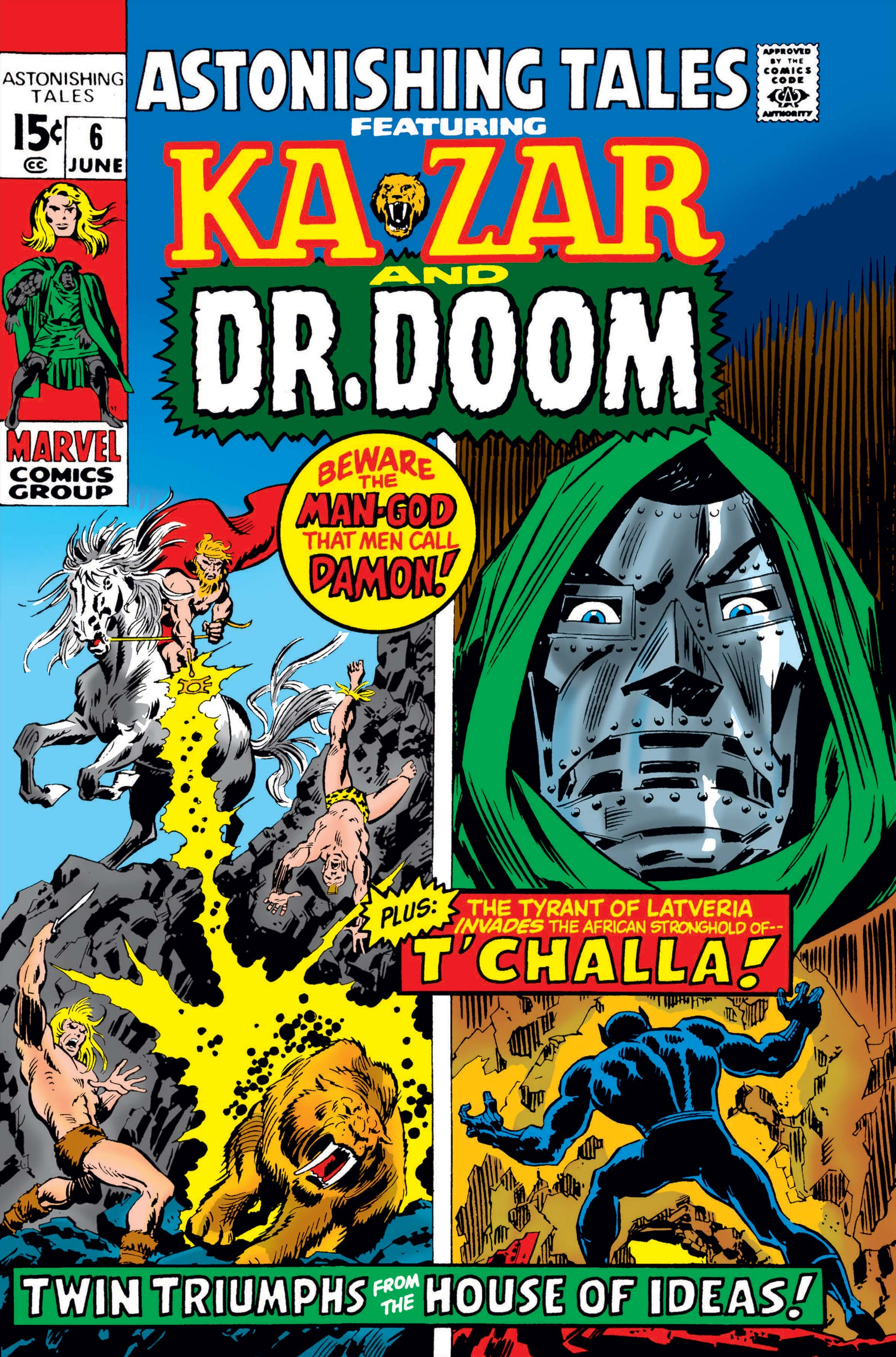 Astonishing Tales (1970) #6