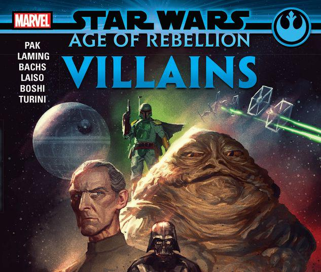 STAR WARS: AGE OF REBELLION - VILLAINS TPB #1