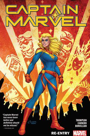 Captain Marvel Vol. 1: Re-Entry (Trade Paperback)