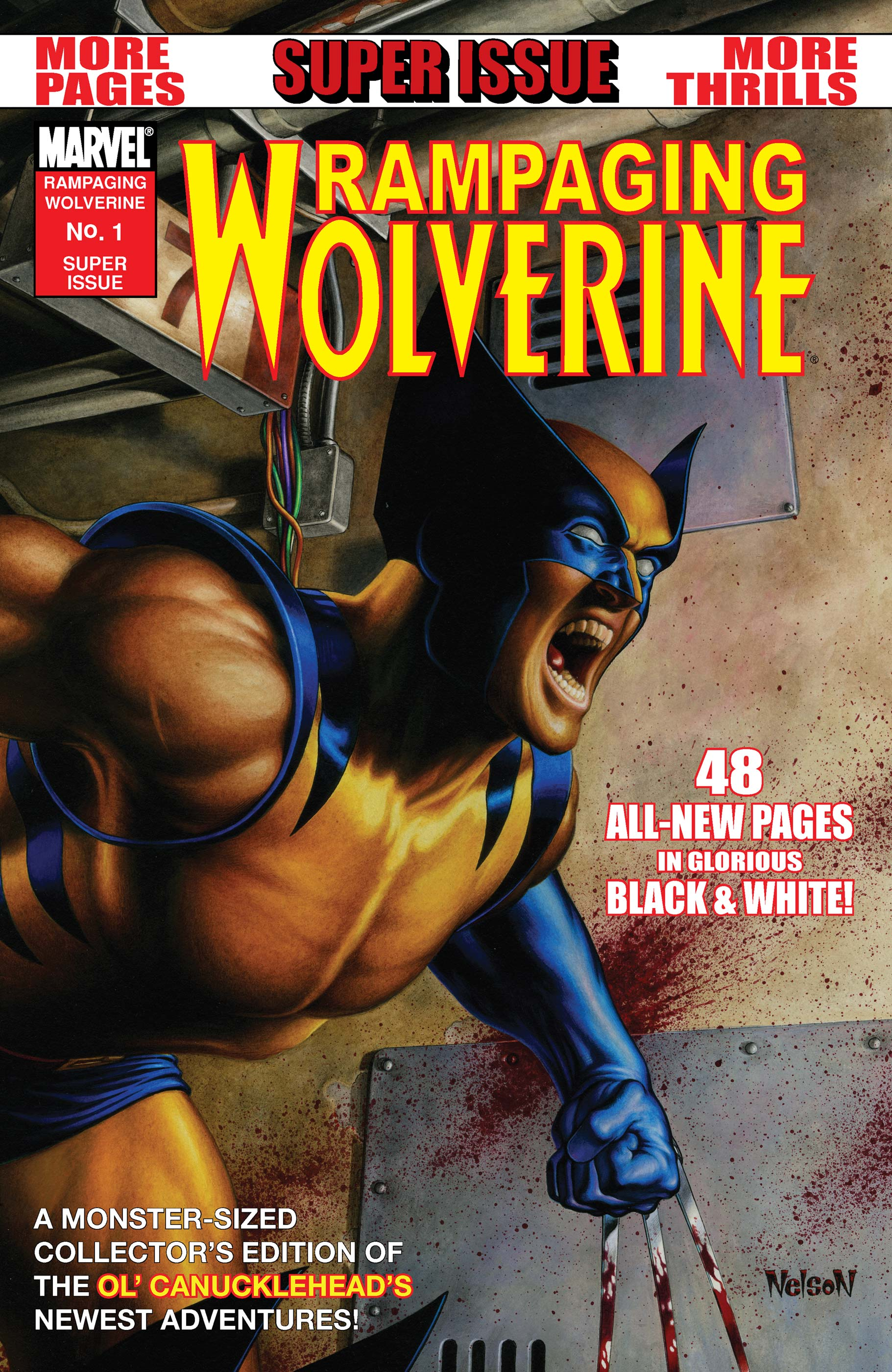 Rampaging Wolverine (2009) #1