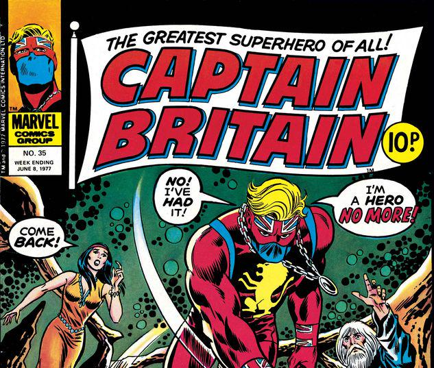 Captain Britain #35
