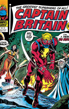 Captain Britain (1976) #35