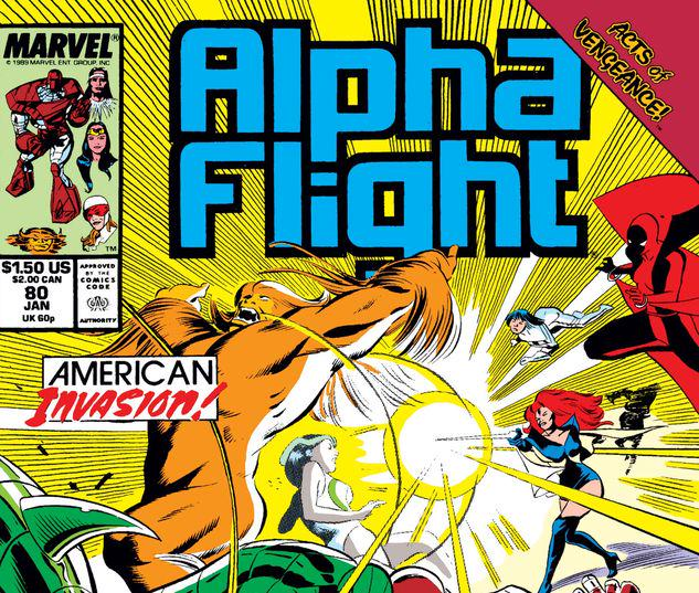 Alpha Flight #80
