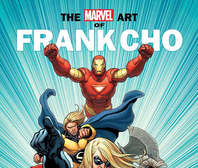MARVEL MONOGRAPH: THE ART OF FRANK CHO TPB #1