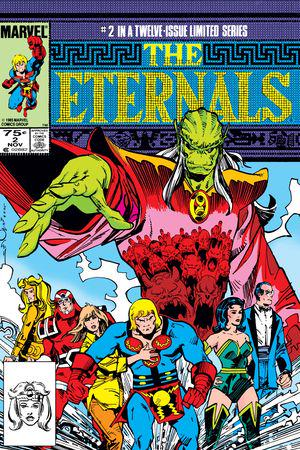 The Eternals (1985) #2