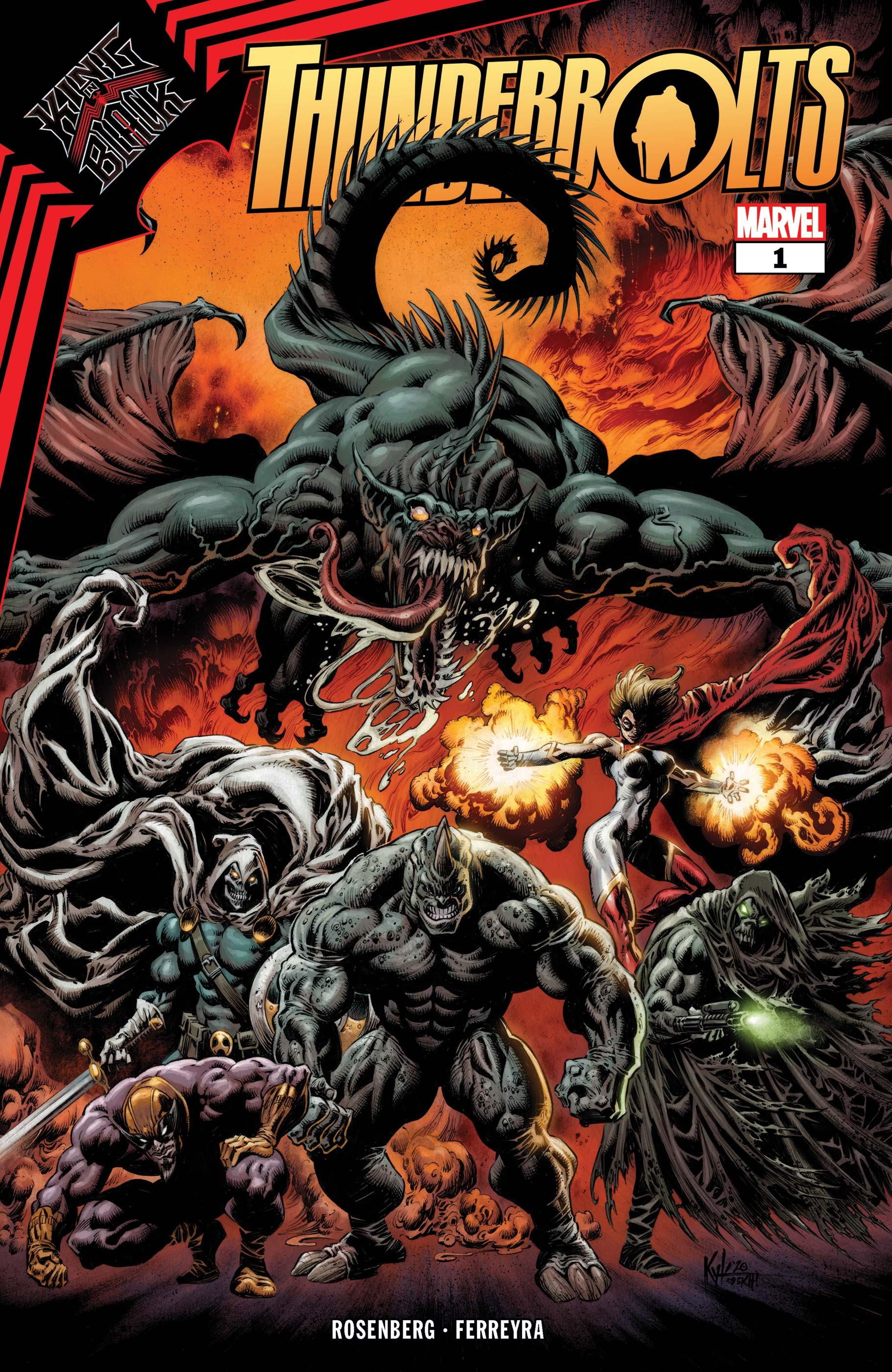 King in Black: Thunderbolts (2021) #1