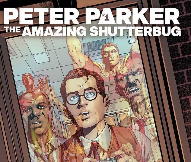 HEROES REBORN: PETER PARKER, THE AMAZING SHUTTERBUG 1 #1