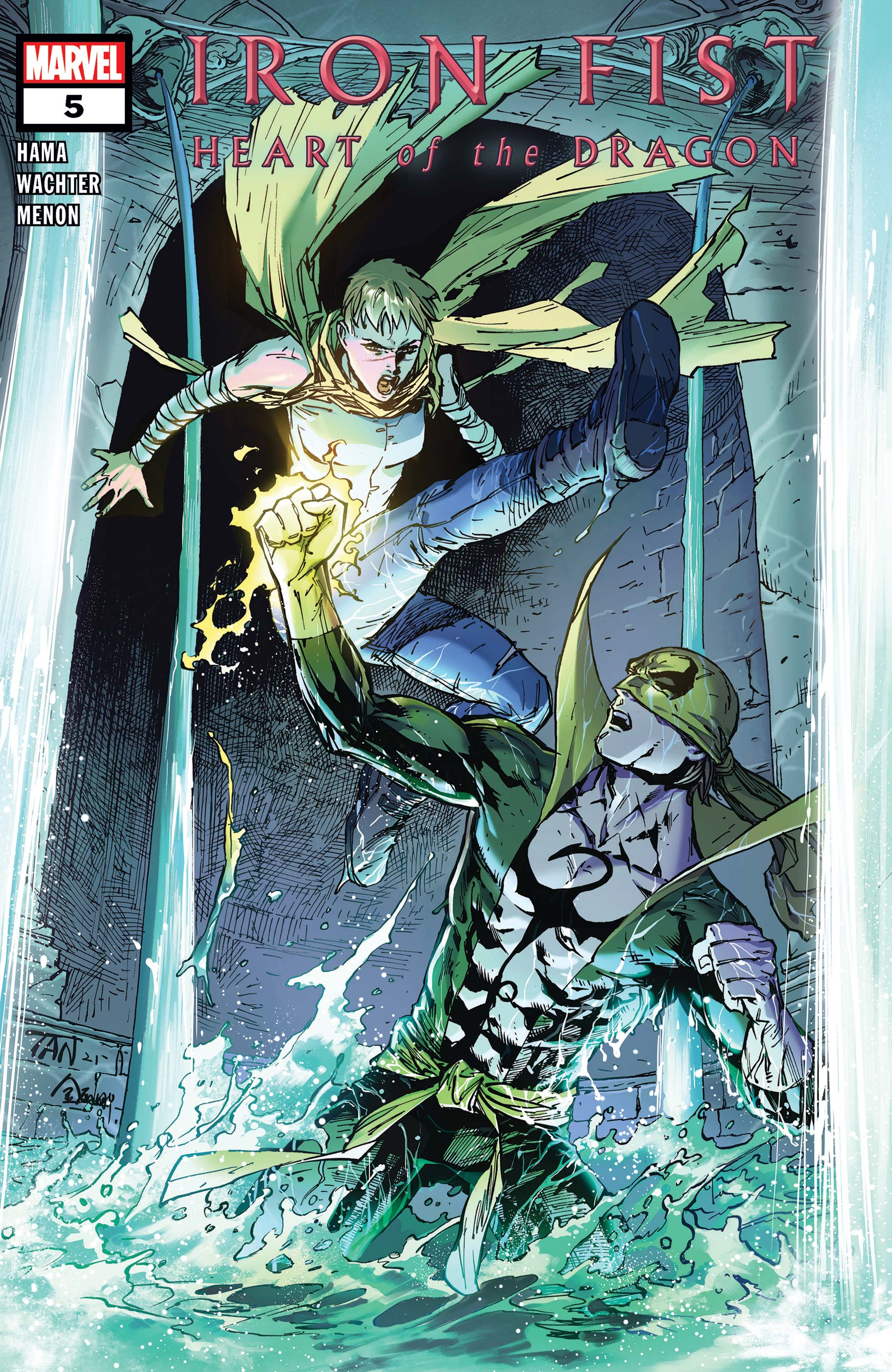 Iron Fist: Heart of the Dragon (2021) #5