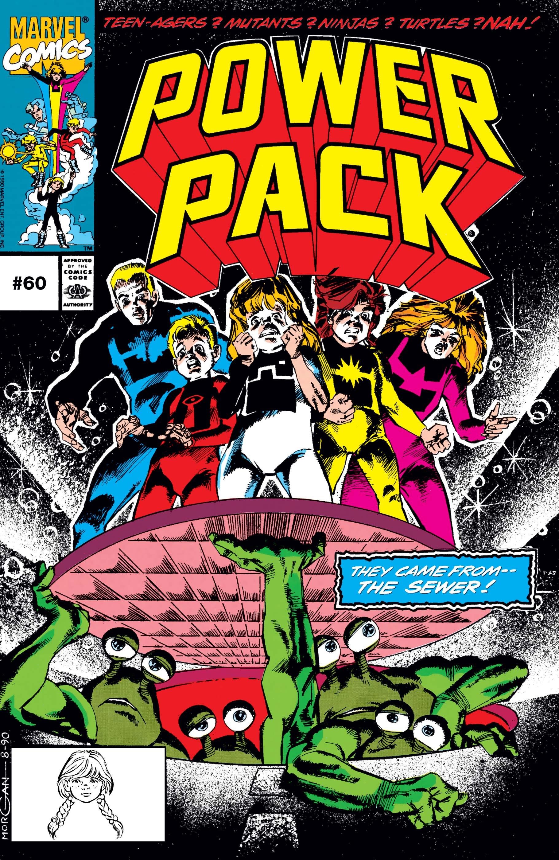 Power Pack (1984) #60